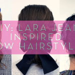 DIY Lara Jean Inspired Hairstyles