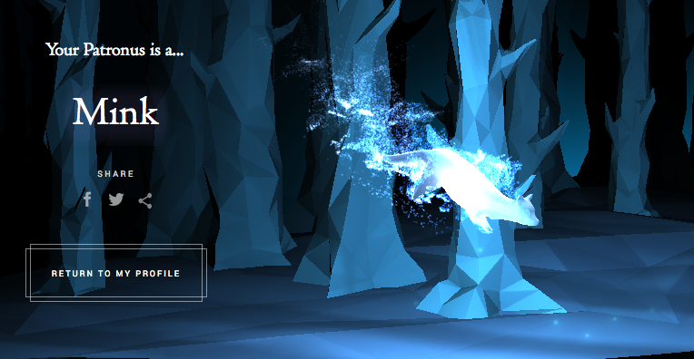 Which Patronus Did You Get Riveted
