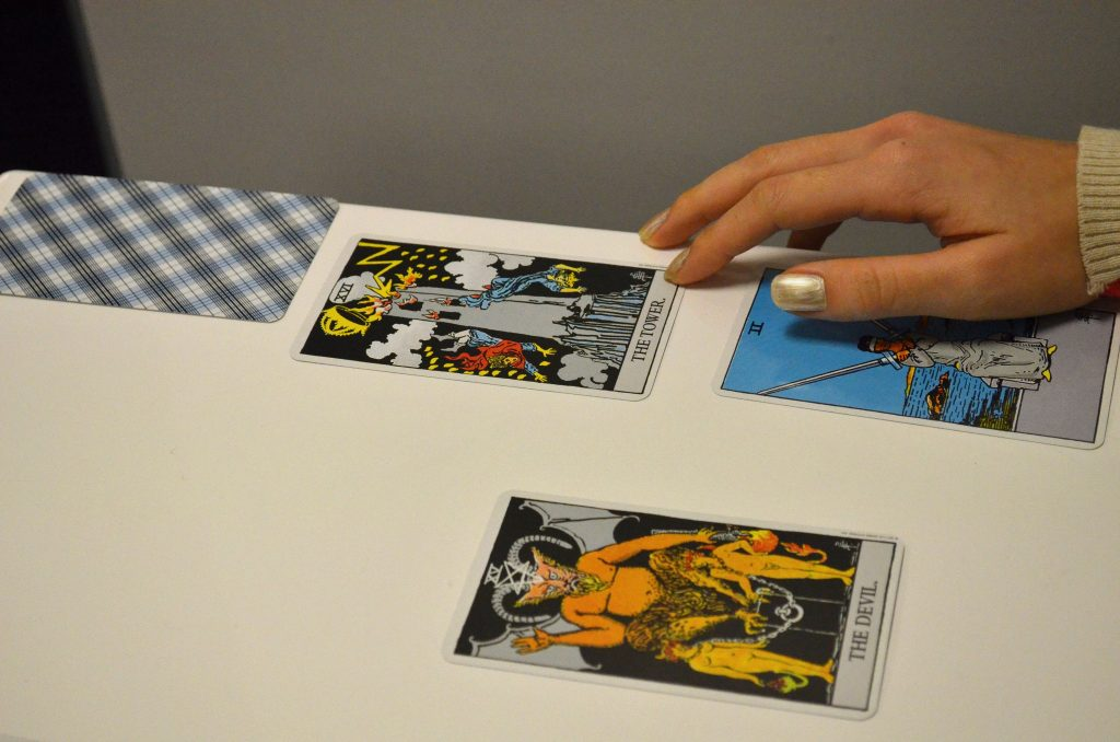 Tarot Trouble - Riveted