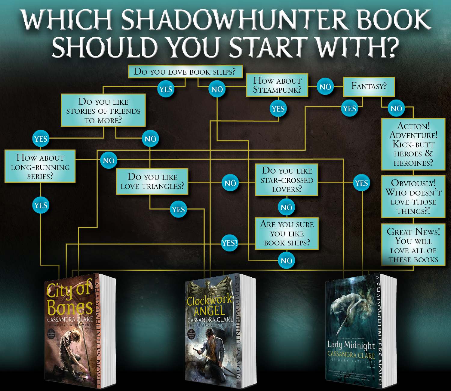 Image result for shadowhunter series books