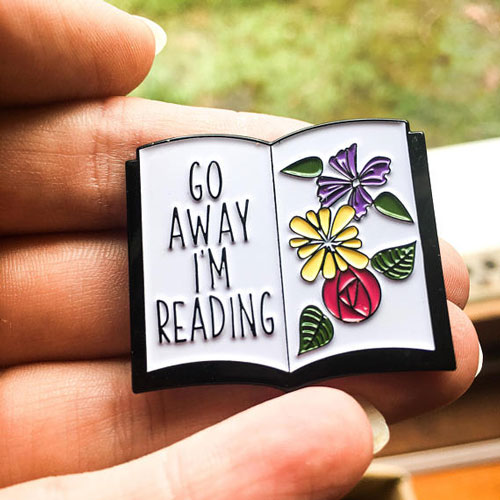 17 Enamel Pins For People Who Love Books - Riveted